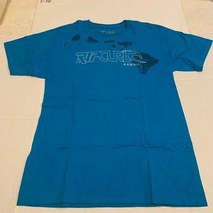 Rip Curl Large T-Shirt - Blue - HI Islands